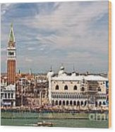 St. Marks Square Venice Wood Print
