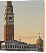St Marks Sunset Wood Print