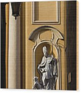 St Martin's Church Architectural Details Wood Print