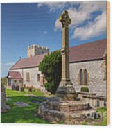 St Mary 1080 Wood Print