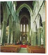 St. Marys Cathedral, Kilkenny City, Co Wood Print