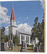 St Marys Catholic Church Dhfx001 Wood Print