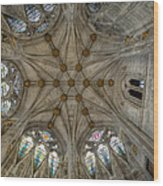 St Mary's Ceiling Wood Print