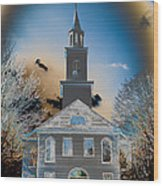 St. Mary's Episcopal Church  Wood Print