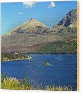 St. Mary's Lake 1 Wood Print