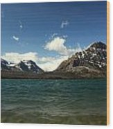 St Marys Lake Wood Print