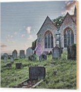 St Michael's East Peckham Wood Print