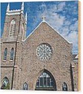 St. Patrick Church Wood Print