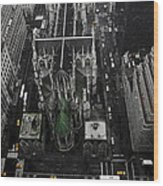 St. Patricks Cathedral Wood Print by Marcel Krasner