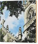 St Paul Cathedral Wood Print by Thomas R Fletcher