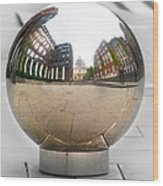 St Paul Cathedrals Reflection Wood Print