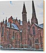 St. Paul S Episcopal Cathedral Wood Print