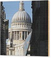 St Pauls Cathedral - London Wood Print