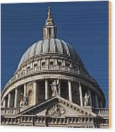 St Pauls Cathedral London Wood Print