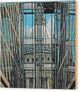 St Pauls Compressed Wood Print