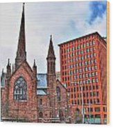 St. Paul's Episcopal Cathedral Wood Print