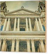 St Pauls Standing Wood Print