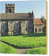 St Peter's Church - Hartshorne Wood Print