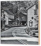 St. Peter's Village Wood Print