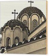 St Piasius Wood Print