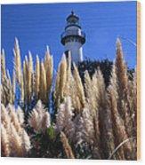 St Simons Lighthouse Wood Print