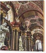 St Stanislaus Church - Posnan Poland Wood Print
