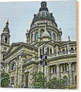 St Stephens Cathedral - Budapest Wood Print