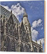 St Stephens Cathedral - Vienna Wood Print