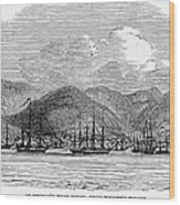 St. Thomas, 1844 Wood Print