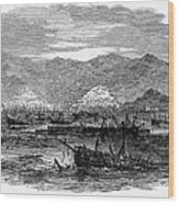 St. Thomas: Earthquake Wood Print by Granger