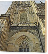 St Vitus Cathedral Prague - The Realms Of 'non-being' Wood Print