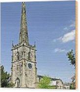 St Wystan's Church - Repton Wood Print