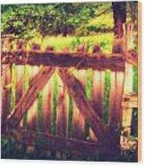 Stable Wood Print