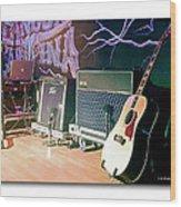 Stage Set Wood Print