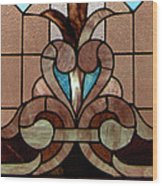 Stained Glass Lc 06 Wood Print