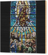 Stained Glass Pc 01 Wood Print