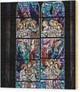 Stained Glass Pc 05 Wood Print