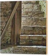Stair Light Wood Print