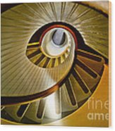 Stairs Stares Wood Print