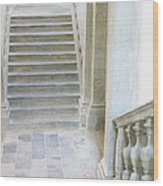 Stairway In Radovlica Wood Print