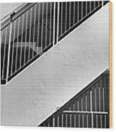 Stairwell #2 Wood Print