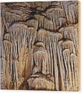 Stalagmite Organ Wood Print