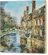 Stamford Bridge Wood Print