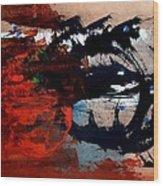 Stampede 01 Wood Print