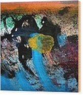 Stampede 04 Wood Print