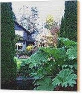 Stanley Park Pavilion Wood Print