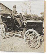 Stanley Steamer Car, 1906 Wood Print