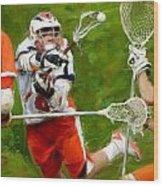 Stanwick Lacrosse 2 Wood Print