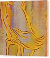 Star Dancer Wood Print by Thomas Maynard