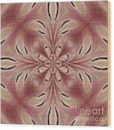 Star Magnolia Medallion 2 Wood Print
